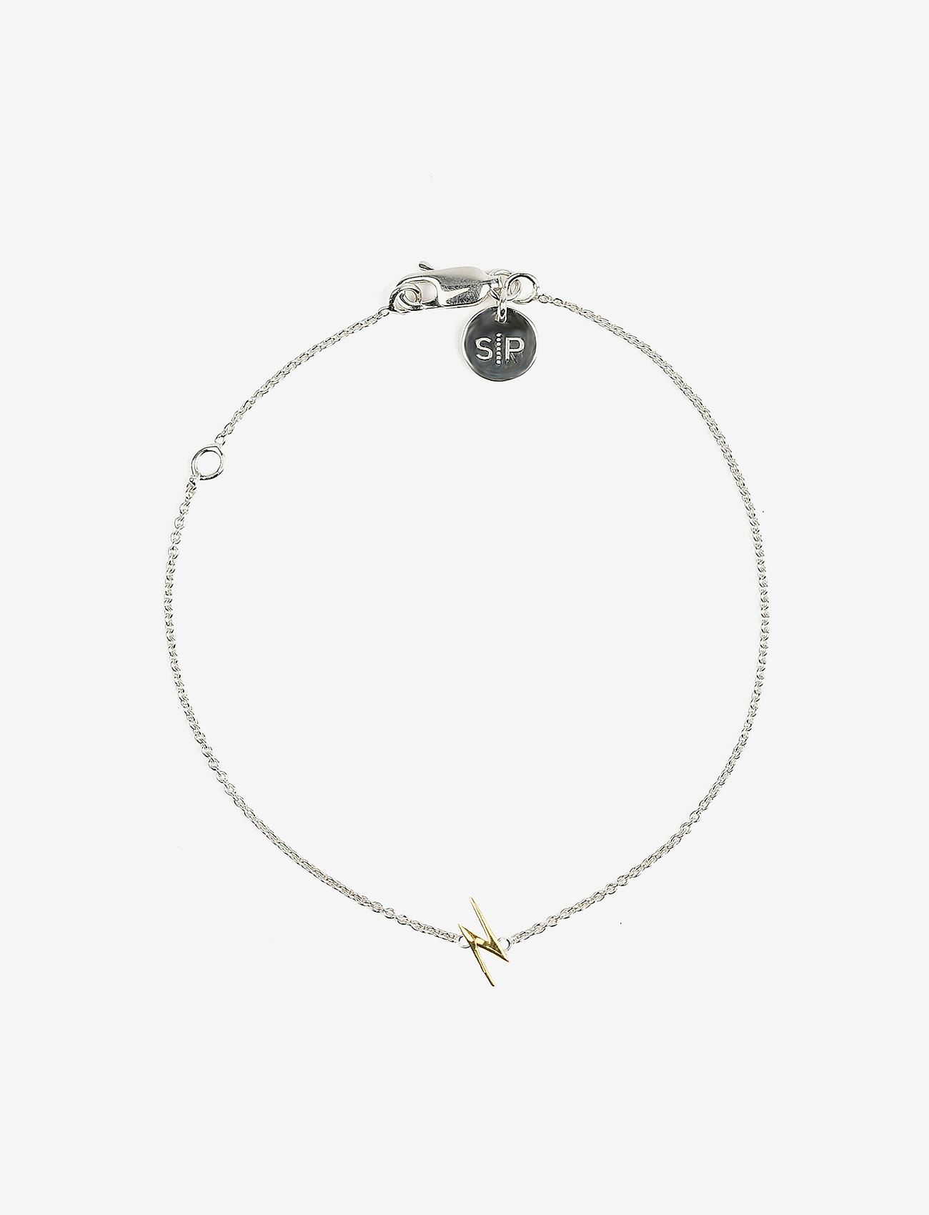 Syster P - Snap Bracelet Flash Silver - dainty - silver - 0
