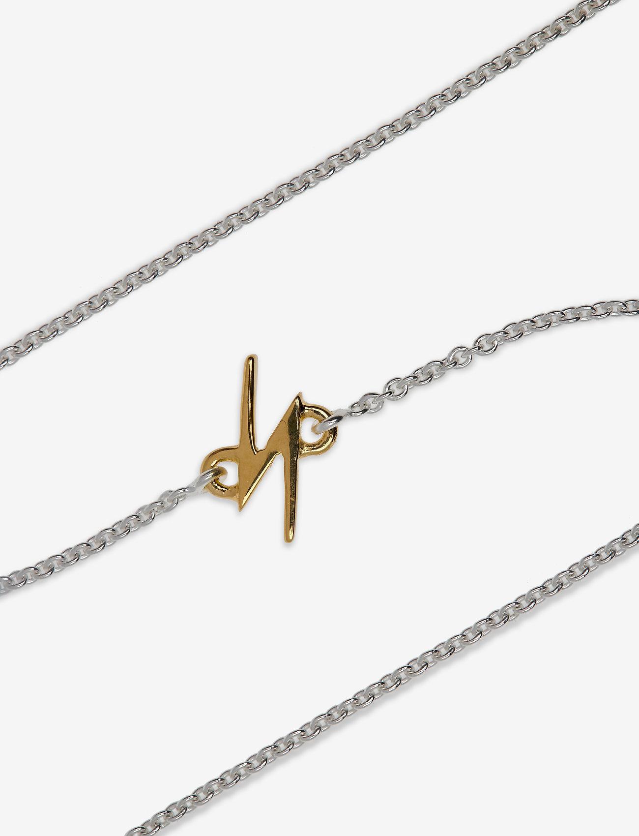 Syster P - Snap Bracelet Flash Silver - dainty - silver - 1
