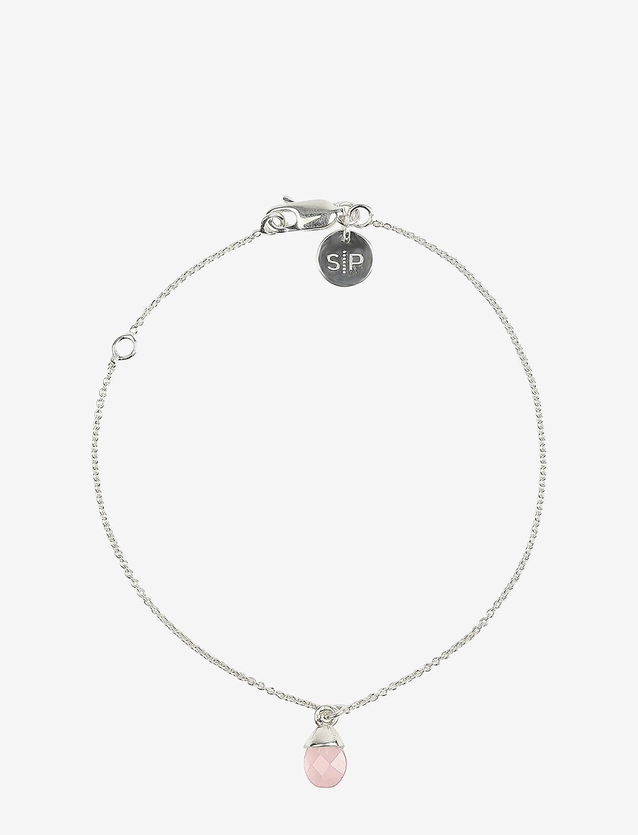 Syster P - Mini Teardrop Bracelet Silver - dainty - silver - 0