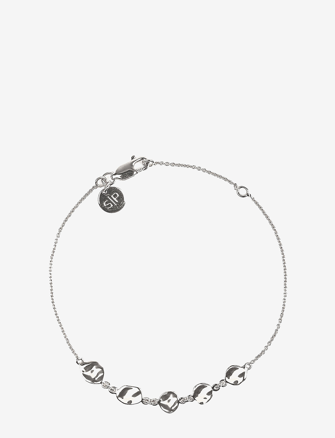 Syster P - Divine Disc Bracelet Silver - dainty - silver - 0
