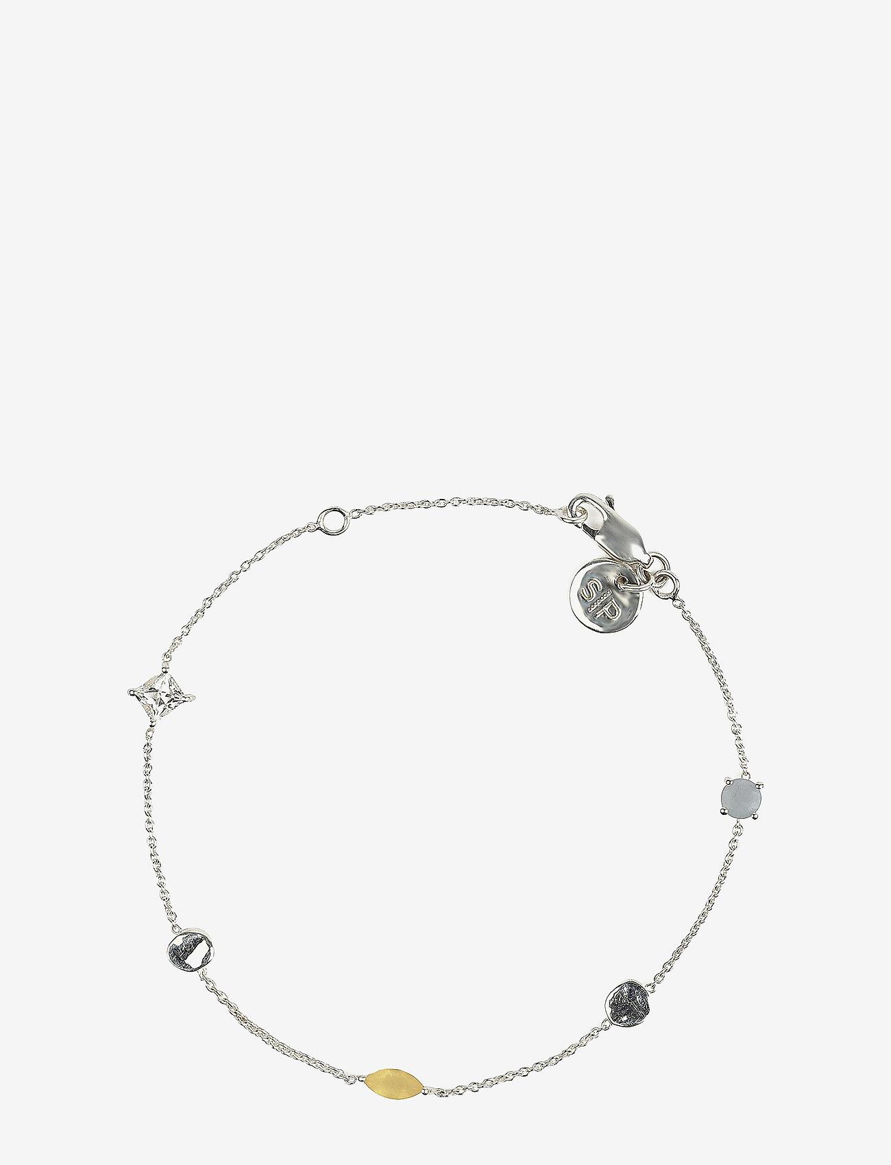 Syster P - Divine Multi Bracelet Silver - dainty - silver - 0