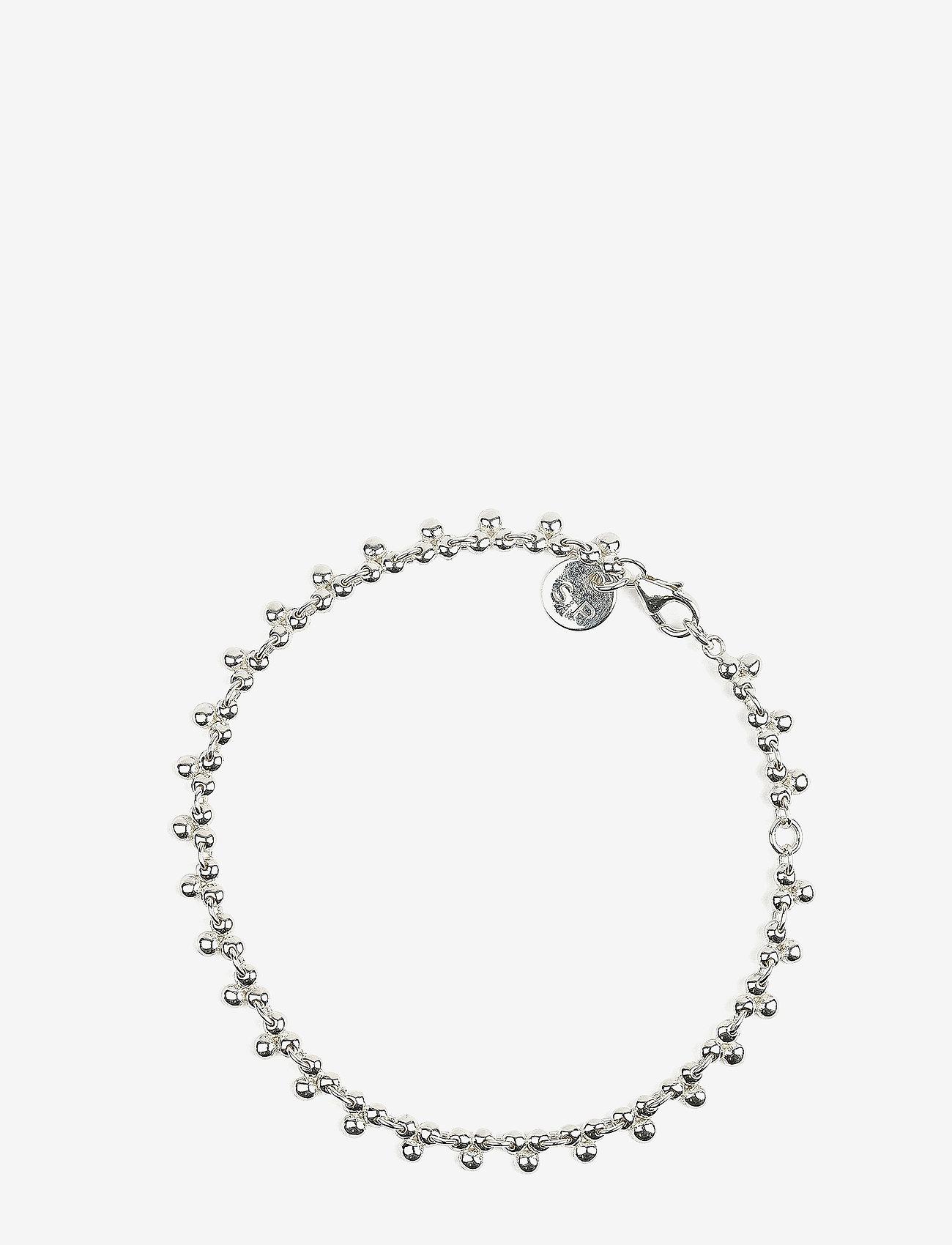 Syster P - Mejja Bracelet Silver - dainty - silver - 0