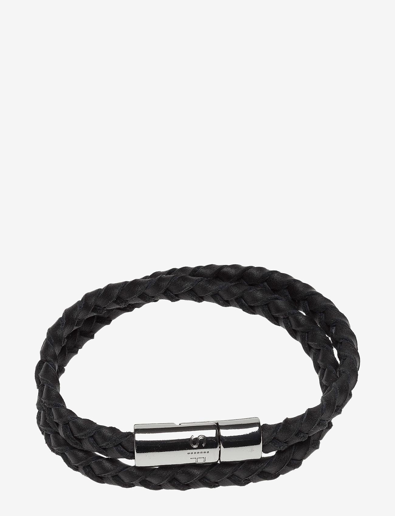 Syster P - Rick Bracelet Black - biżuteria - black - 0