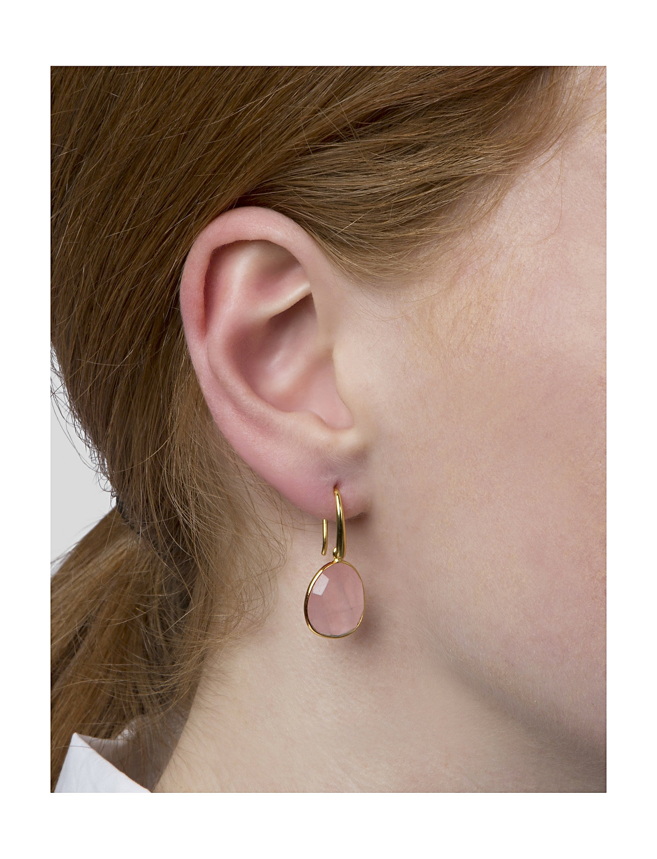 Syster P - Glam Glam Earrings - oorhangers - gold - 1