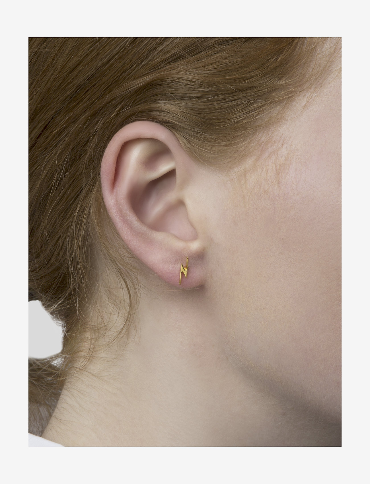 Snap Earrings Flash Gold (Gold) (49 €) - Syster P R5RL5