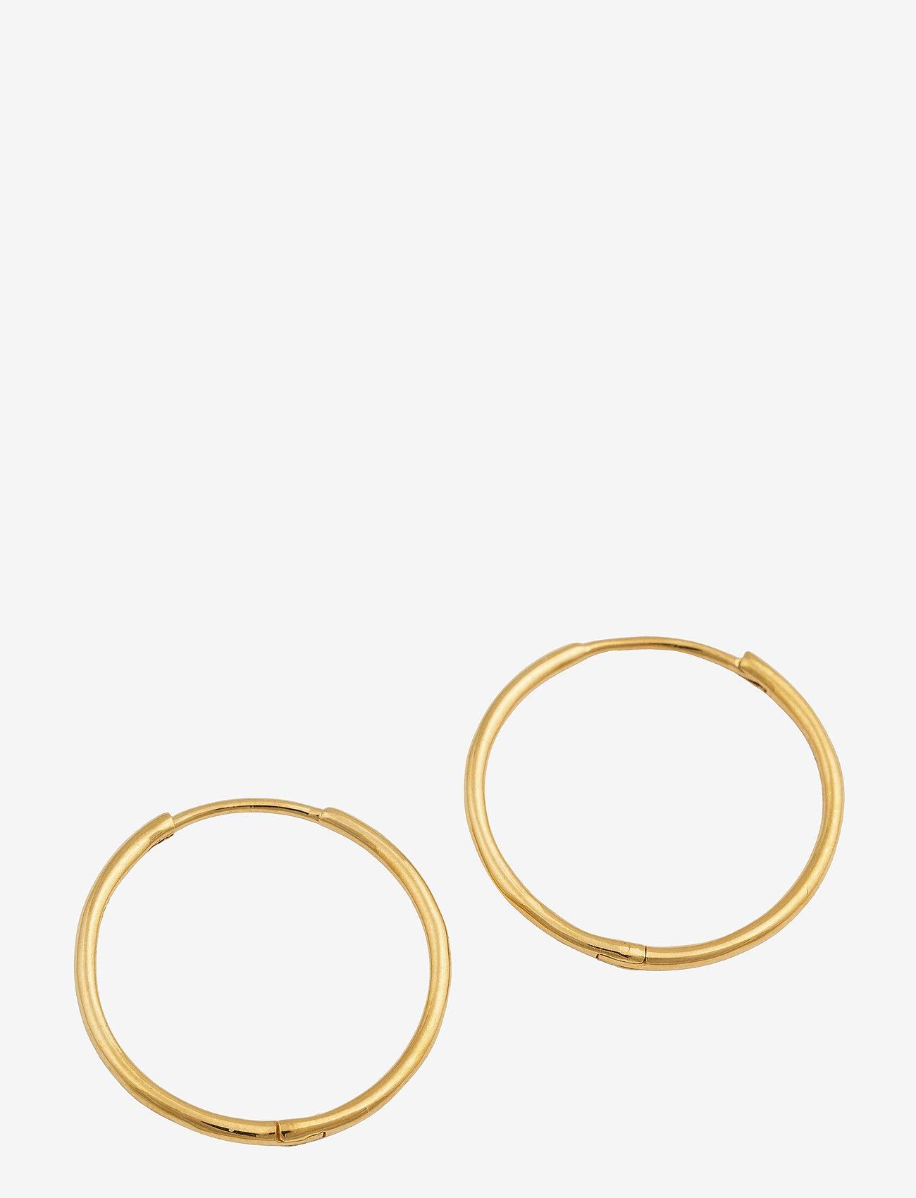 Syster P - Beloved Medium Hoops Gold - hopen - gold - 0