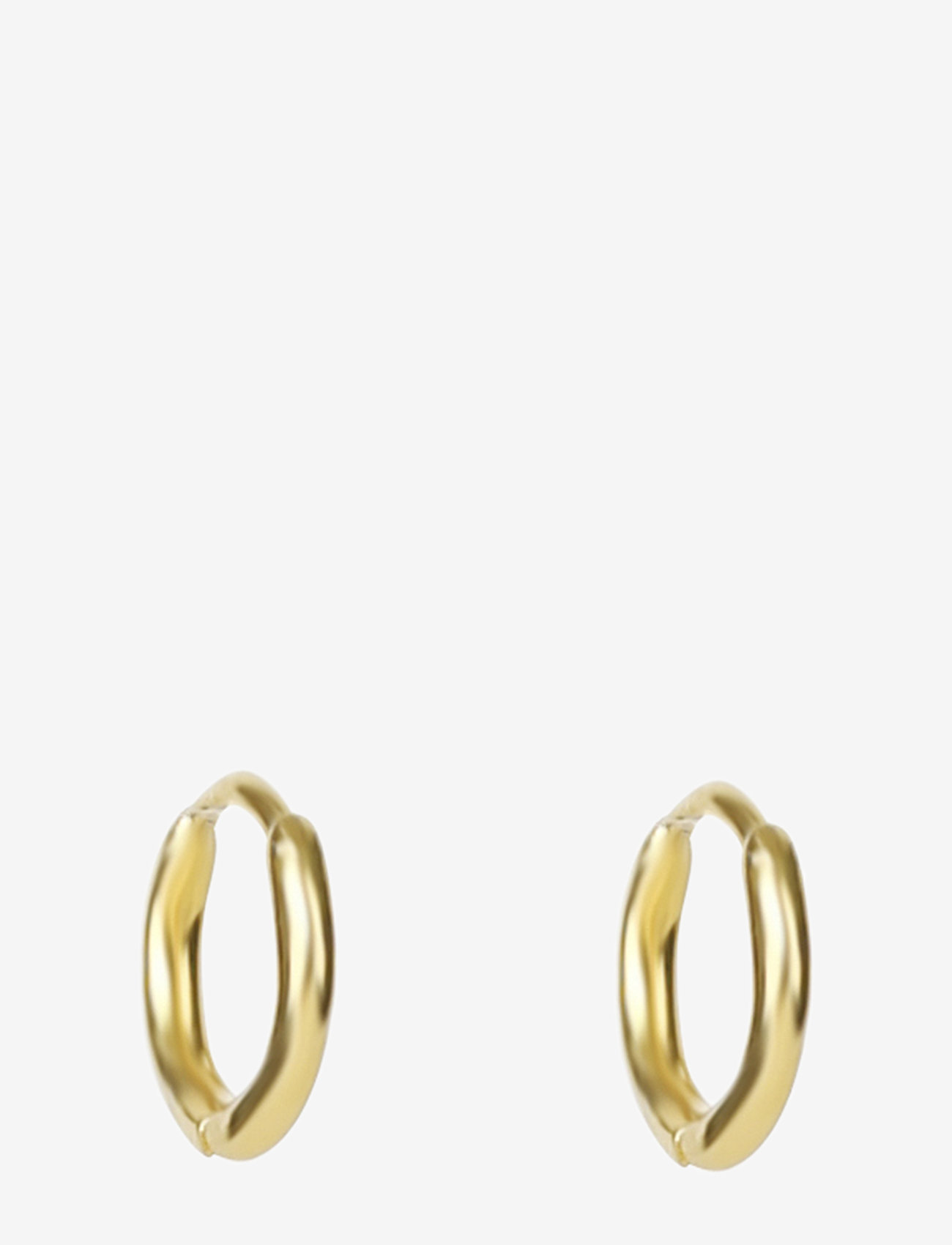 Syster P - Mini Hoop Earrings Gold - hopen - gold - 0