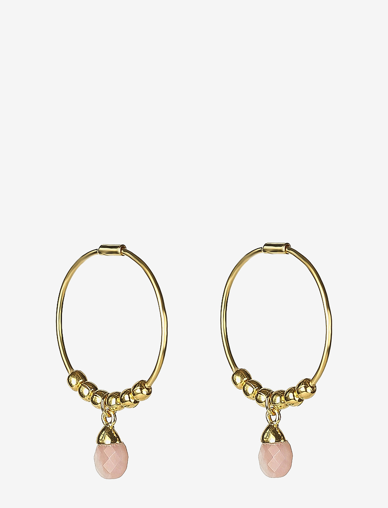 Syster P - Mini Teardrop Earrings Gold - korvarenkaat - gold