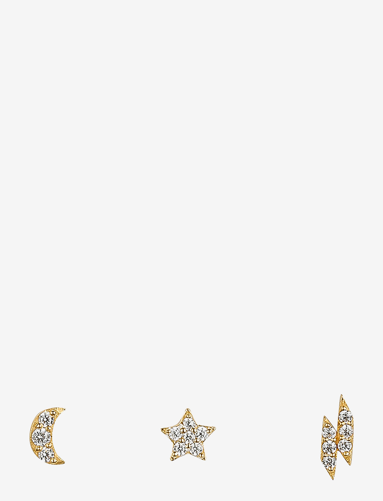 Syster P - Mini Earring Collection Cosmos - stud oorbellen - gold - 0