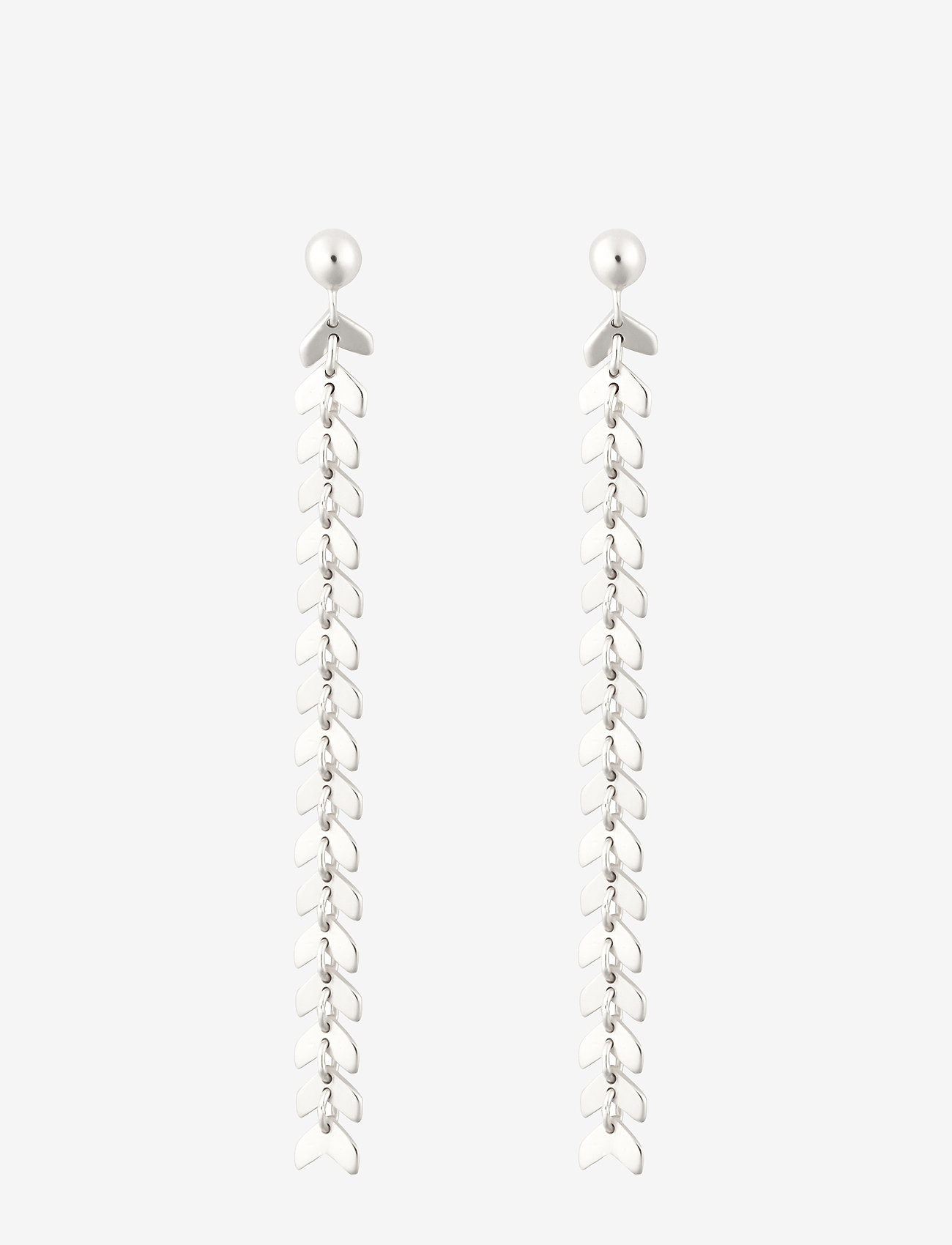 Syster P - Layers Olivia Earrings Silver - oorhangers - silver - 0