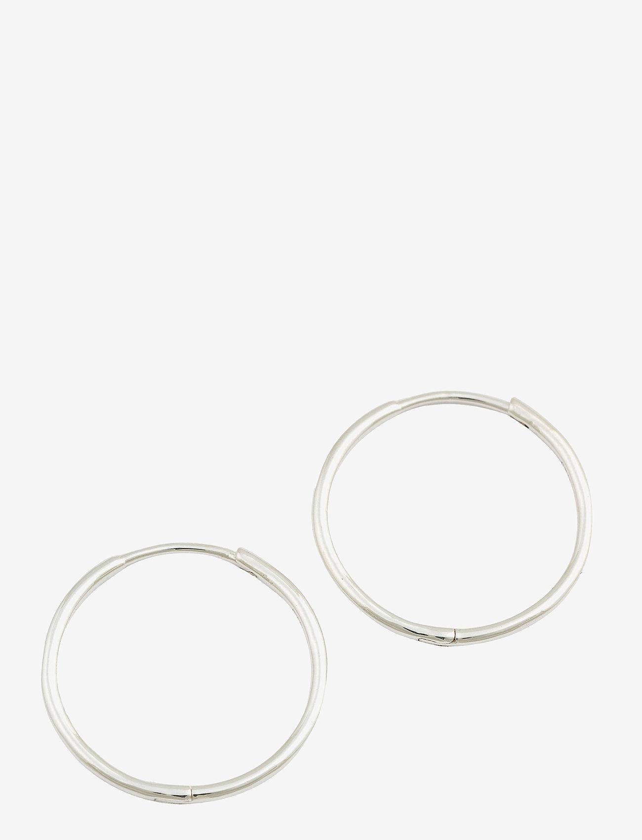 Syster P - Beloved Medium Hoops Silver - hopen - silver - 0
