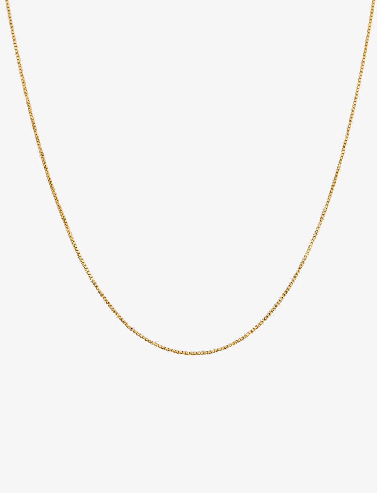 Syster P - Beloved Chain Short Gold - halskjeder - gold - 0