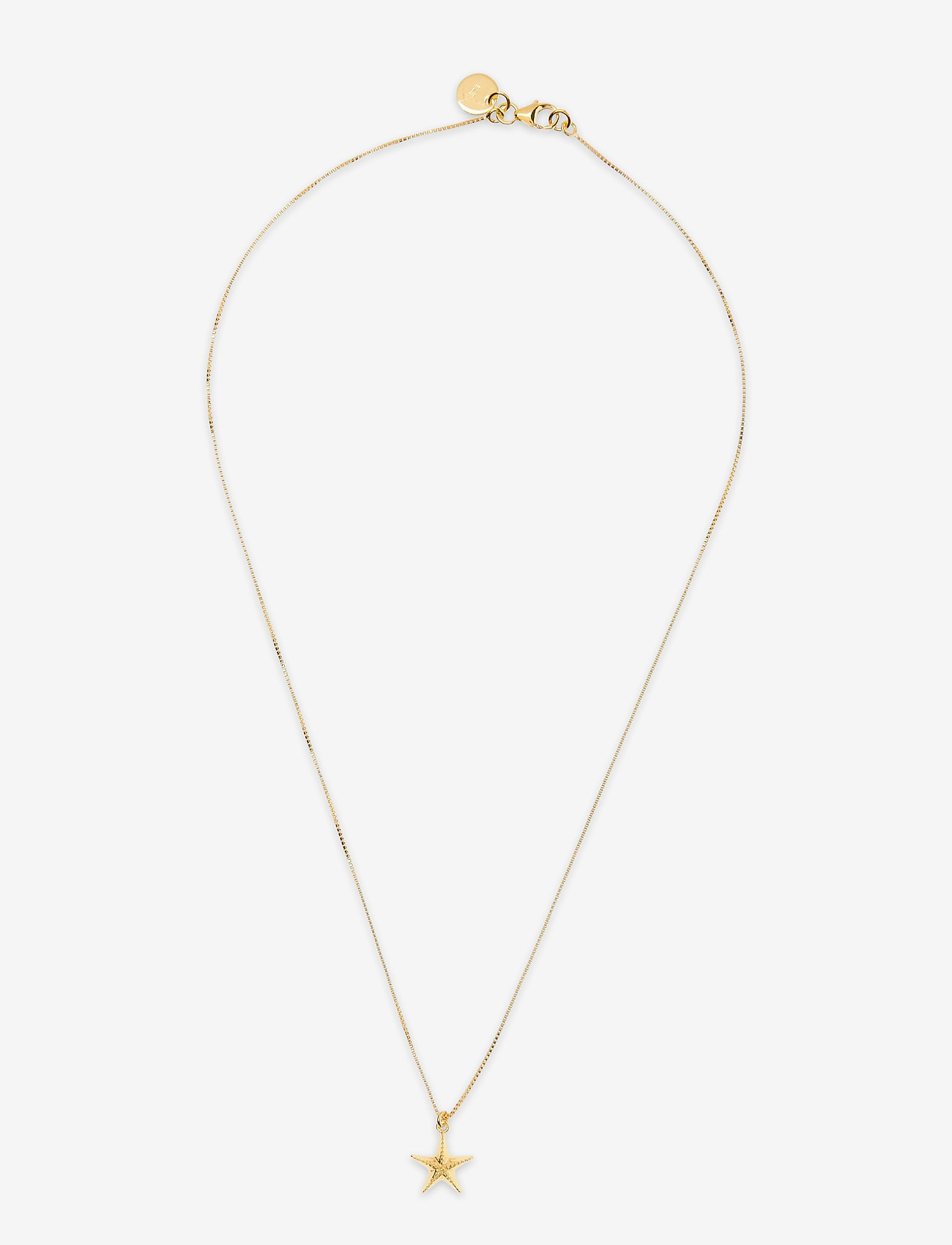Syster P - Beaches Starfish Necklace Gold - kettingen met hanger - gold - 0