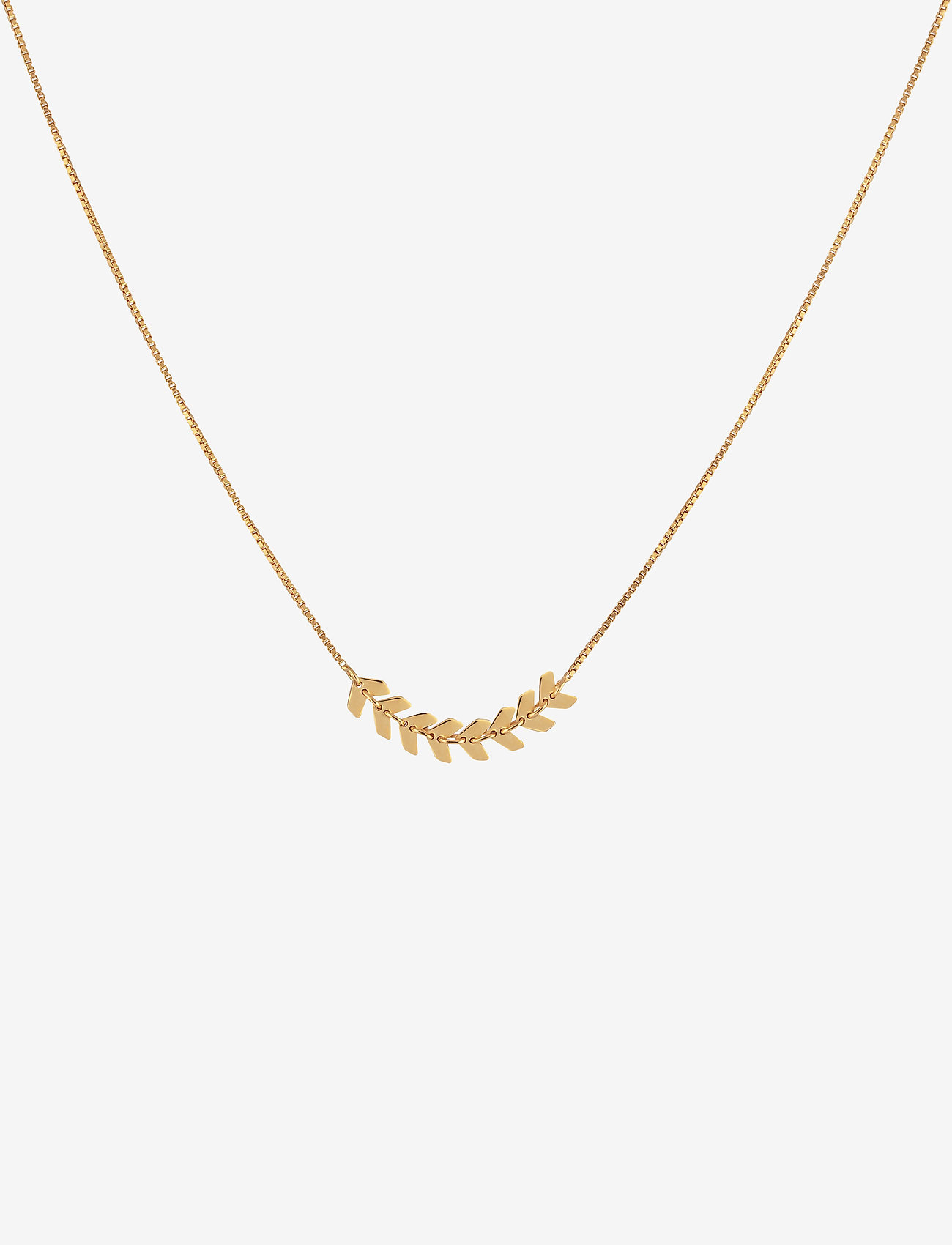 Syster P - Layers Simone Necklace Gold - kettingen met hanger - gold - 0