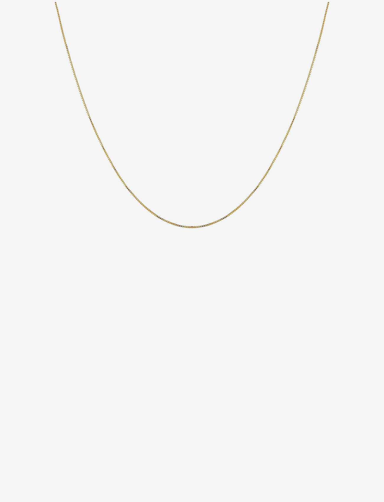 Syster P - Beloved Long Box Chain Gold - kettingen  - gold - 0