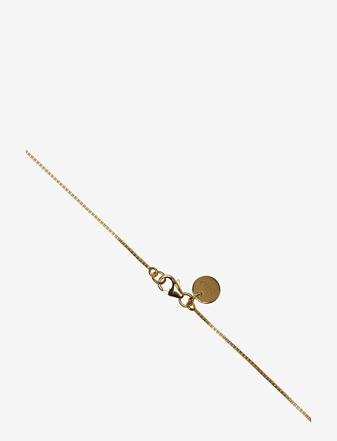 Syster P - MINIMALISTICA BREATHE NECKLACE GOLD - kettingen met hanger - gold - 1