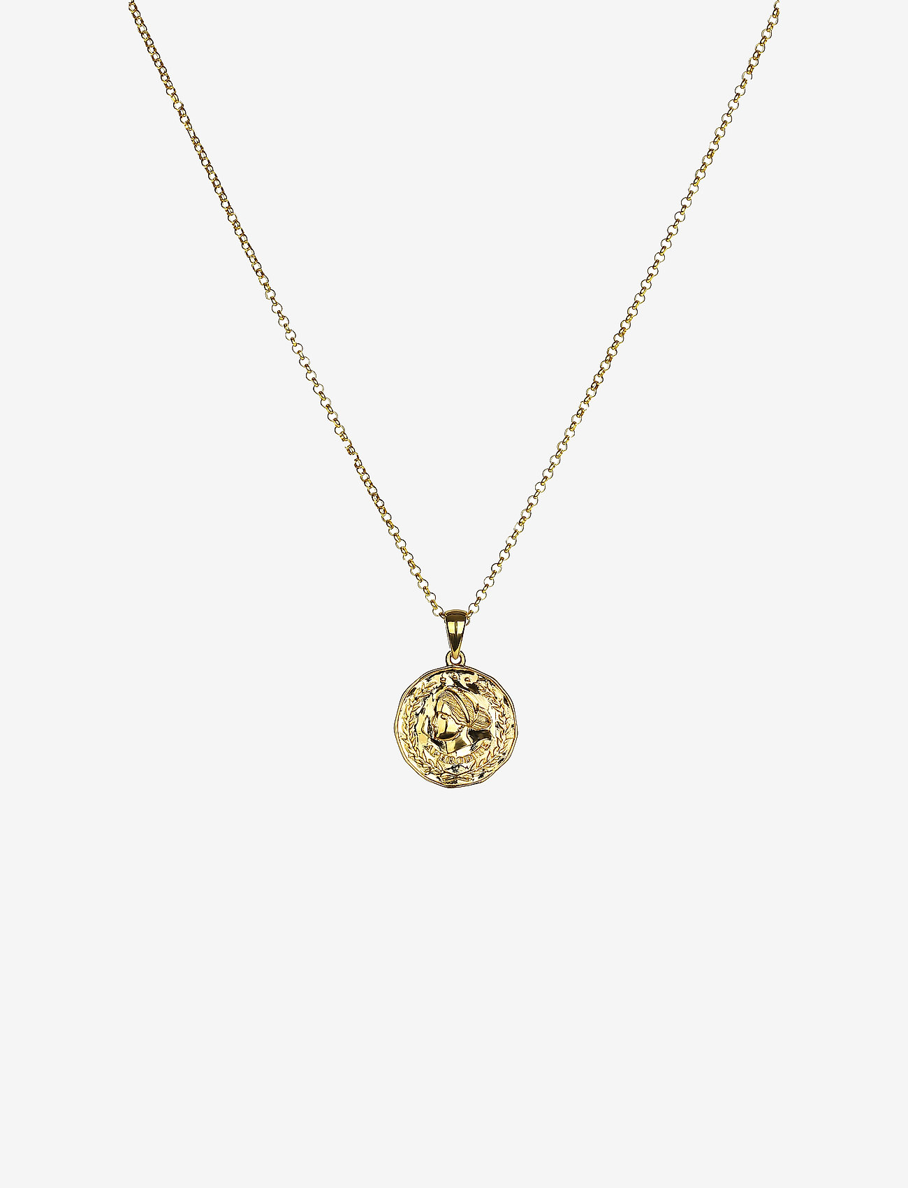 Syster P - Beaches Aphrodite Necklace Gold - kettingen met hanger - gold - 0