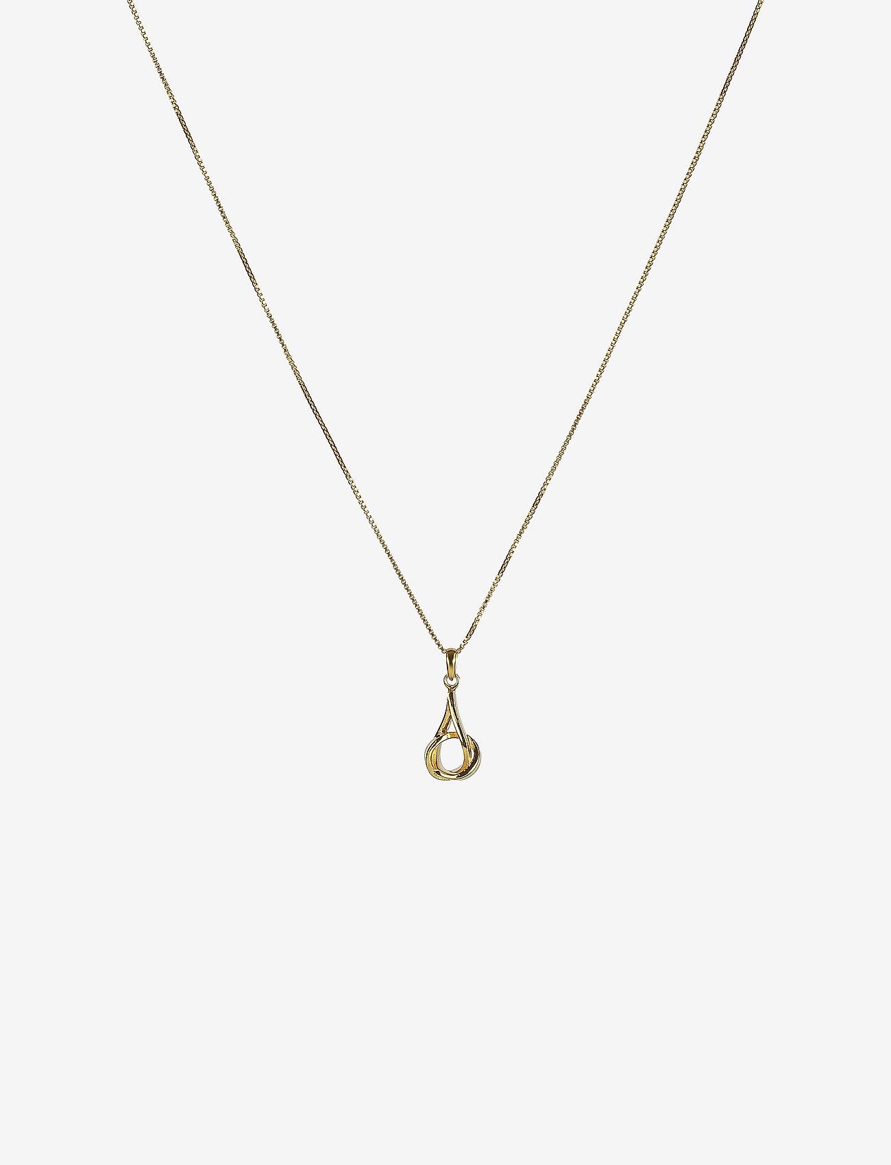 Syster P - Tied Necklace Gold - kettingen met hanger - gold - 0