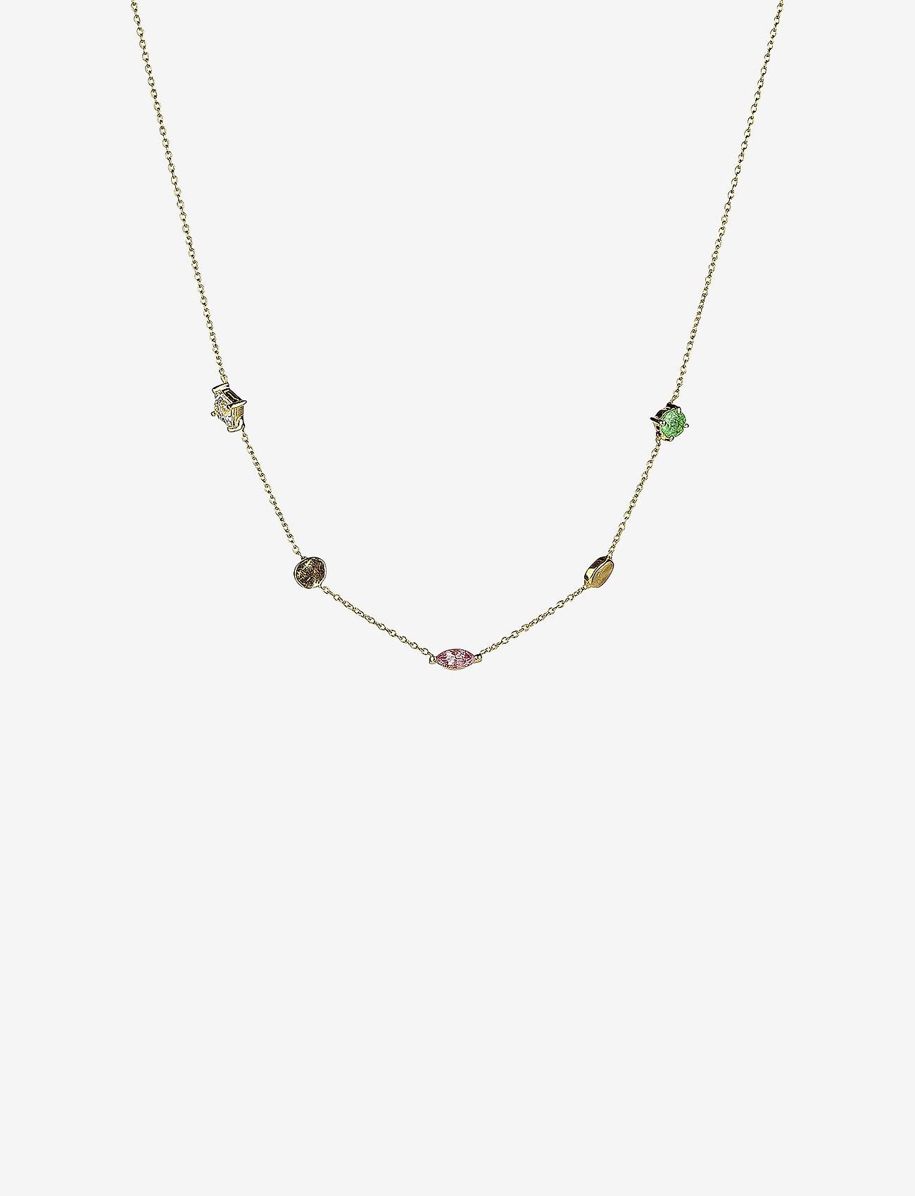 Syster P - Divine Multi Necklace Gold - kettingen met hanger - gold - 0