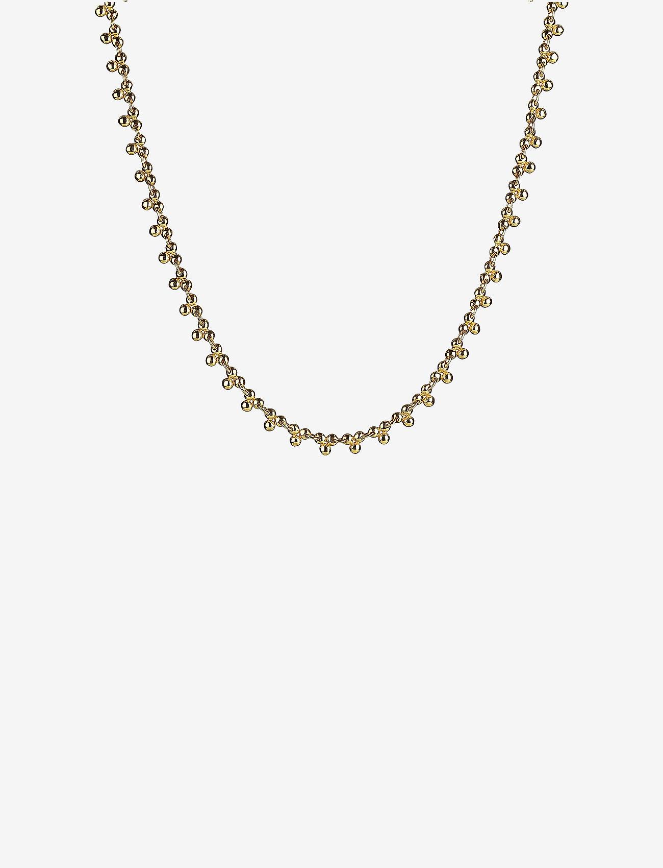 Syster P - Mejja Necklace Gold - sirot kaulakorut - gold