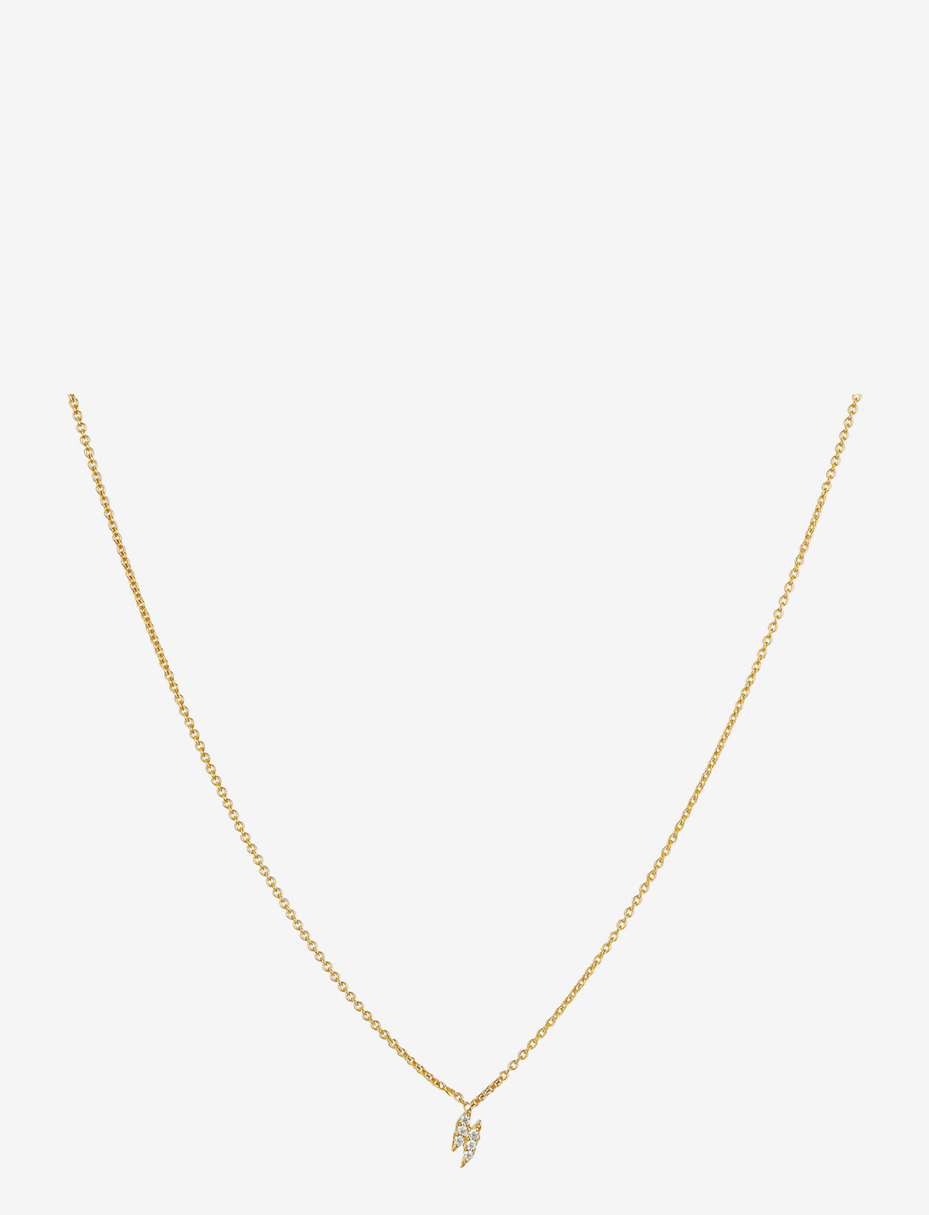 Syster P - Mini Flash Necklace Gold - kettingen  - gold - 0
