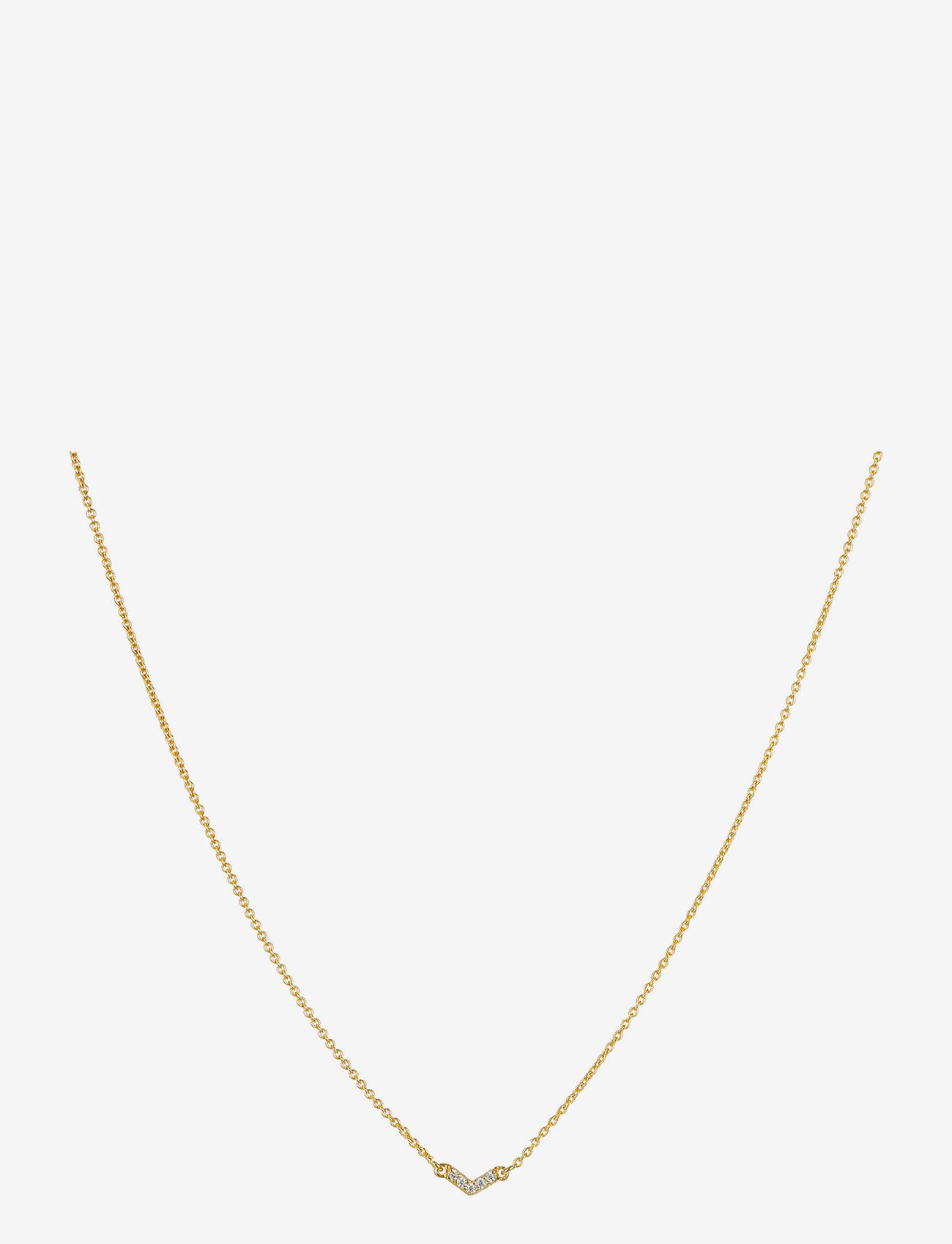 Syster P - Mini Arrow Necklace Gold - kettingen  - gold - 0