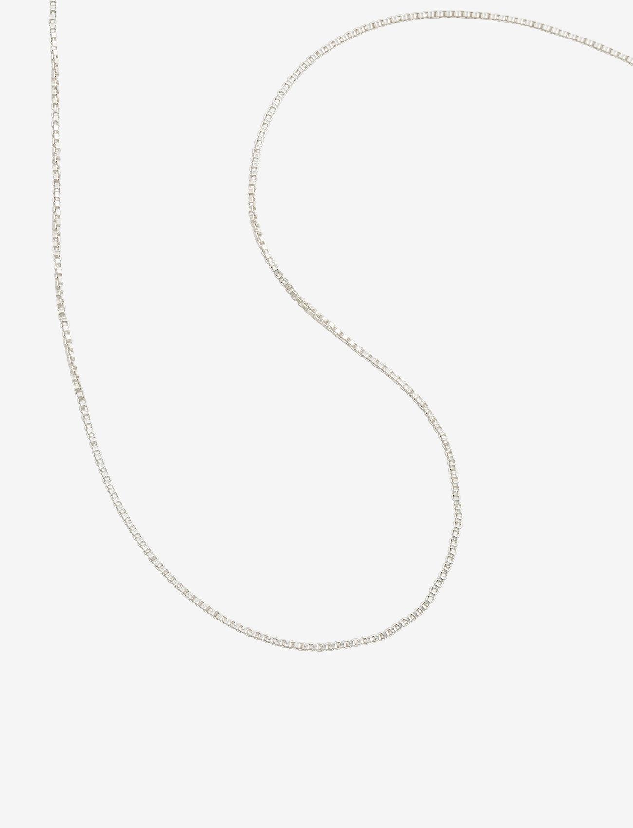 Syster P Beloved Short Box Chain Silver - Biżuteria SILVER - Akcesoria