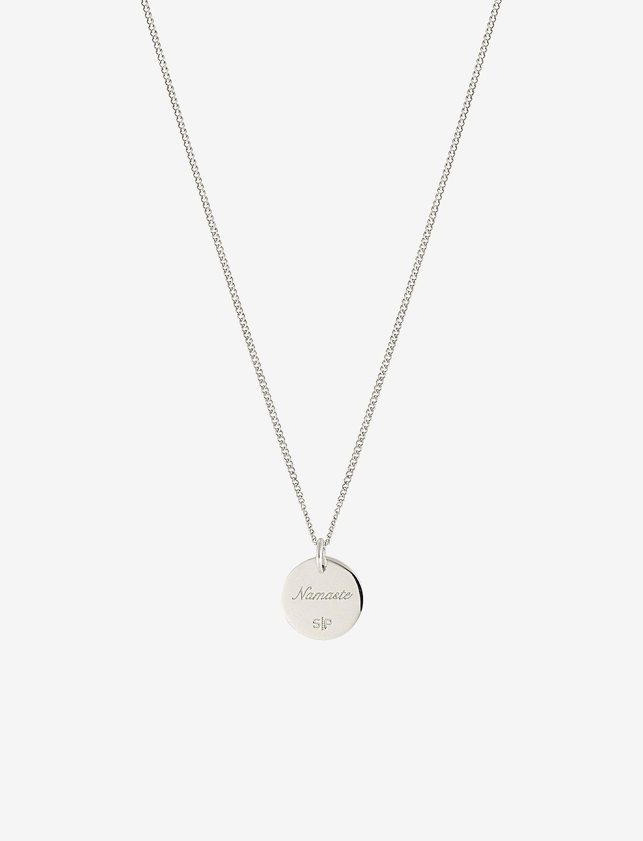 Syster P Karma Necklace Namaste - Biżuteria SILVER - Akcesoria