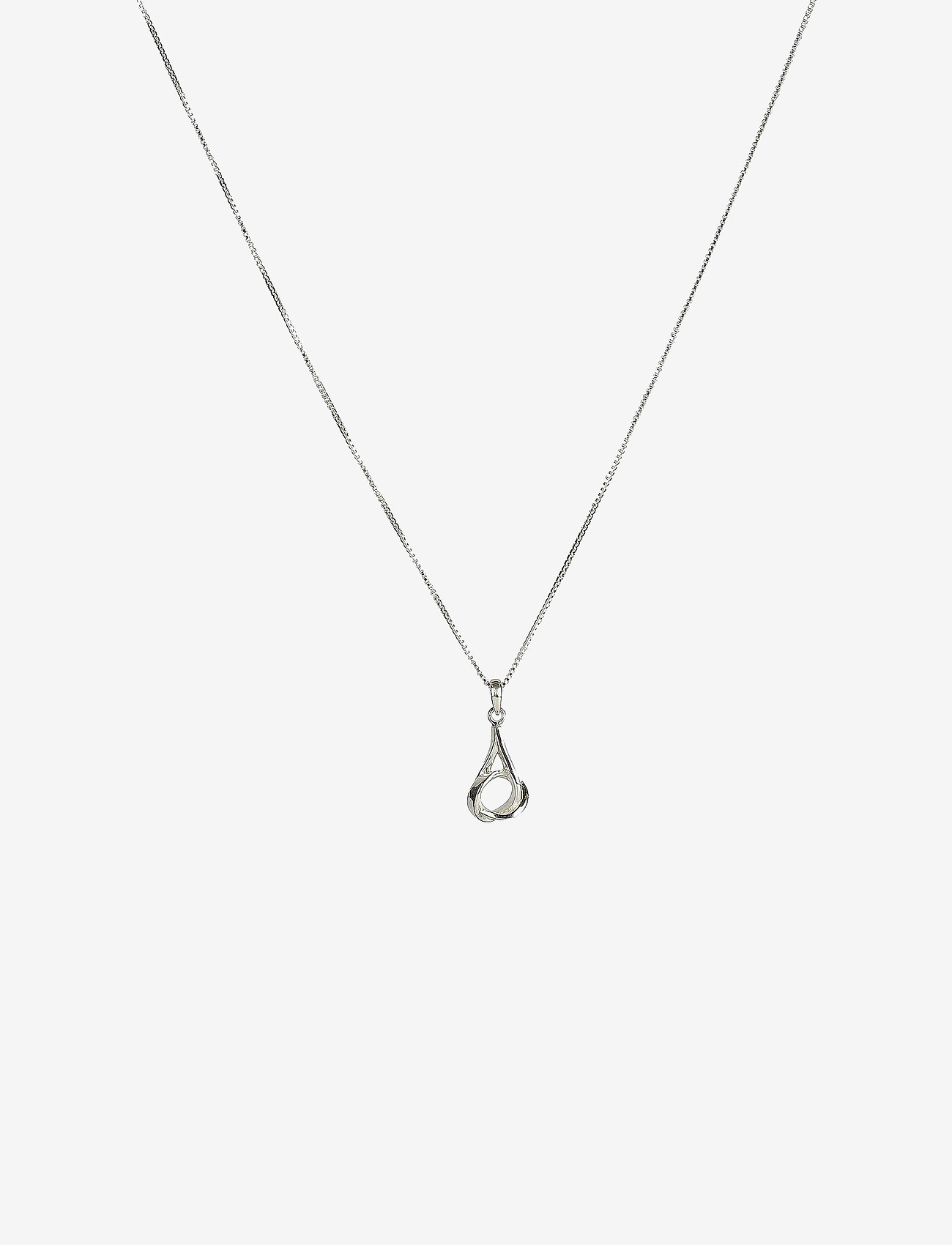 Syster P - Tied Necklace Silver - kettingen met hanger - silver - 0