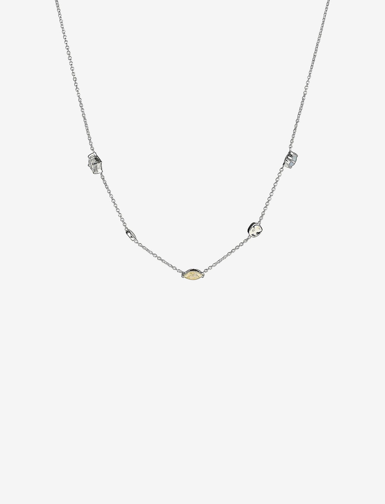 Syster P - Divine Multi Necklace Silver - sirot kaulakorut - silver