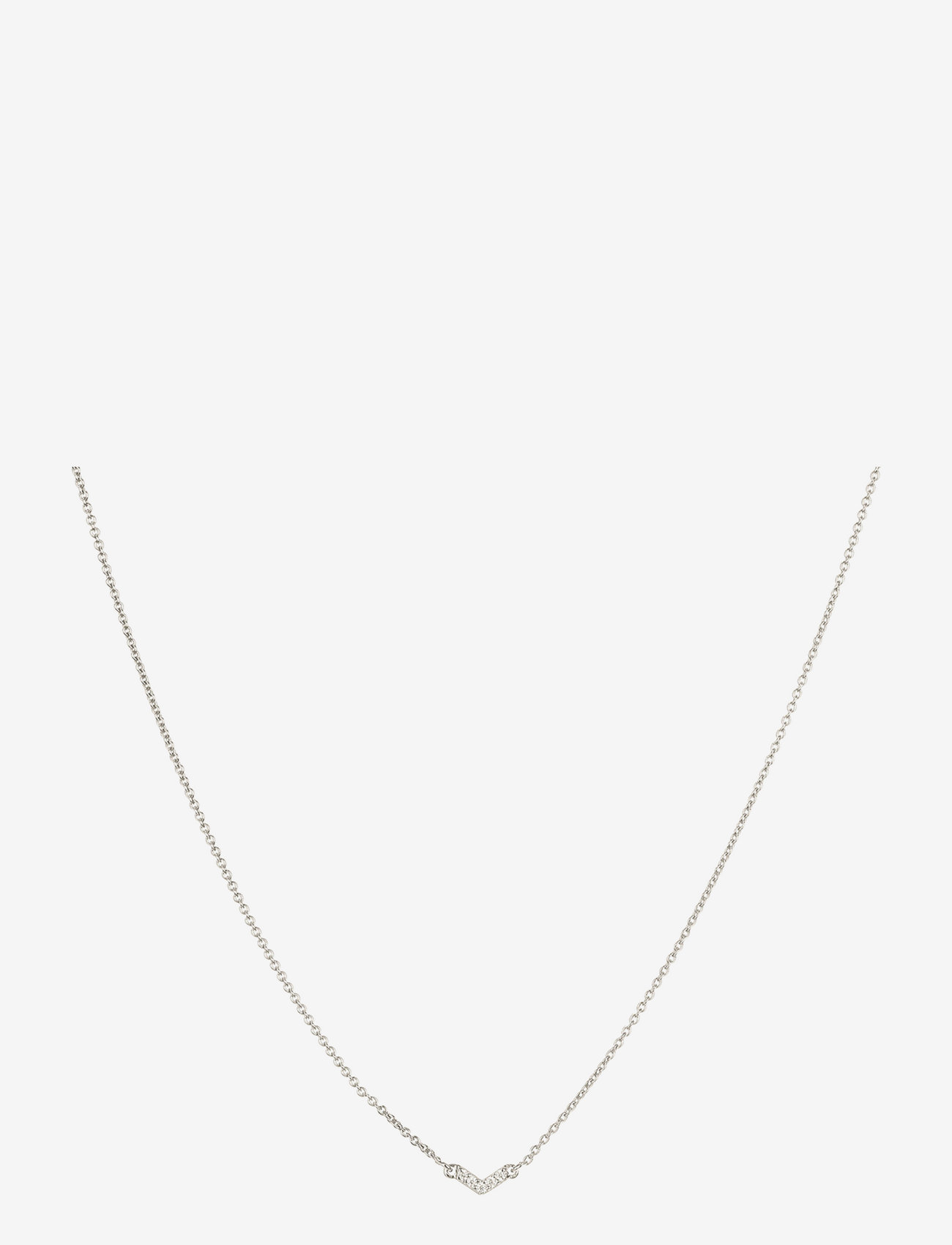 Syster P - Mini Arrow Necklace Silver - kettingen  - silver - 0