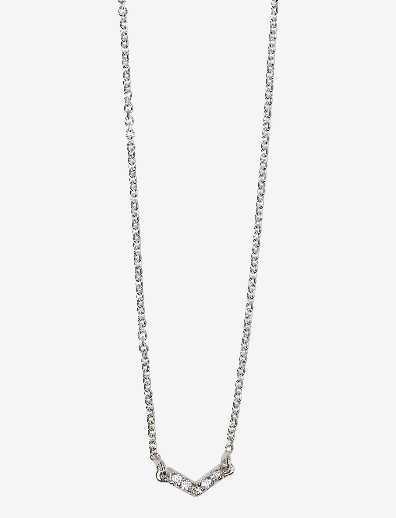 Syster P - Mini Arrow Necklace Silver - kettingen  - silver - 1
