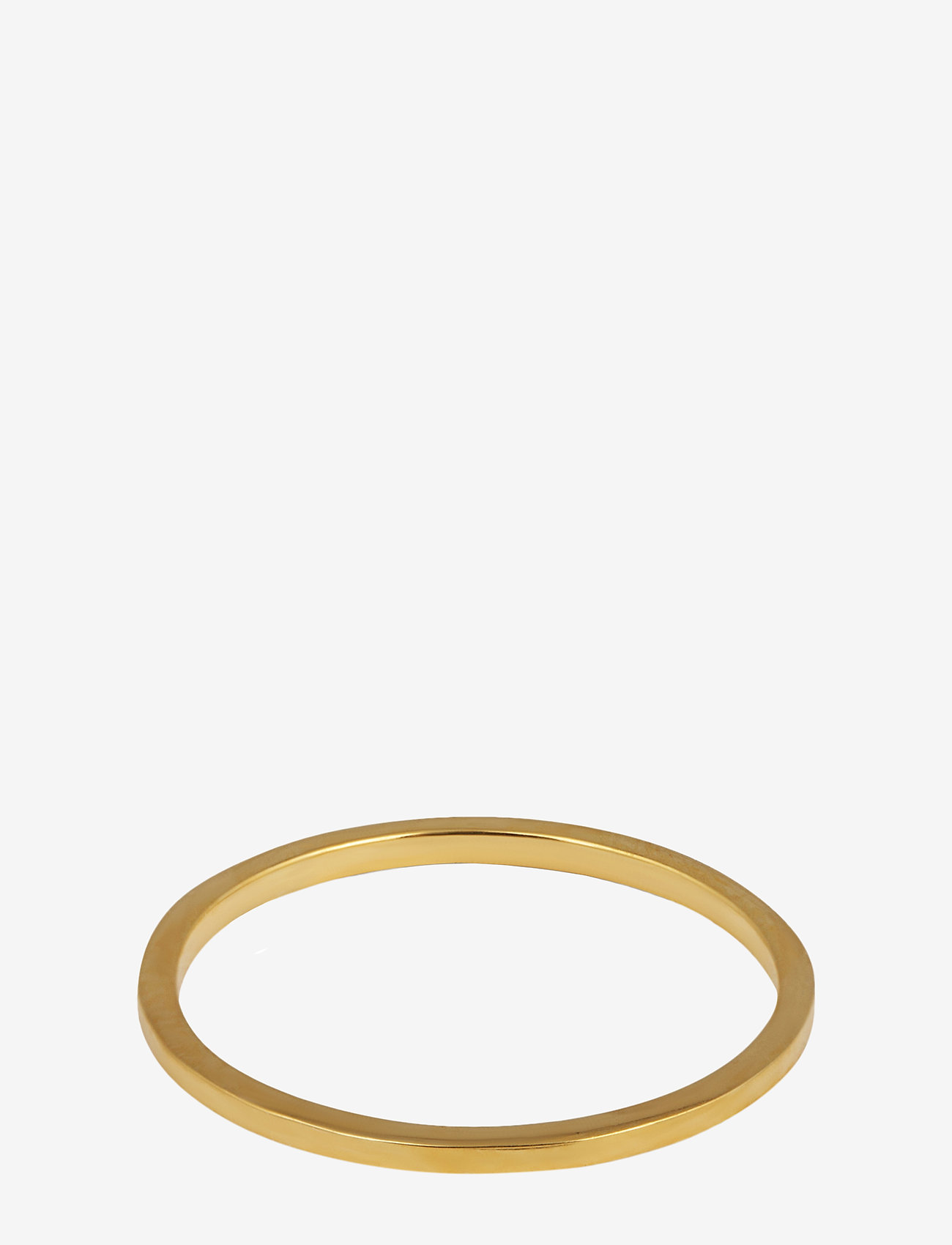 Syster P - Tiny Plain Ring Gold - ringen - gold - 0