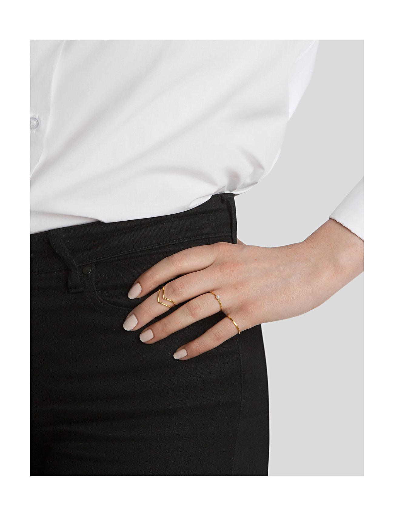 Syster P Tiny Plain Ring Gold - Biżuteria GOLD - Akcesoria