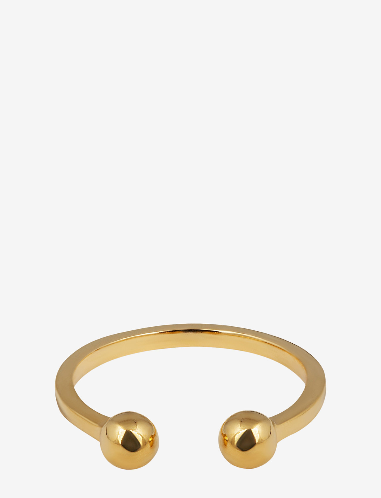Syster P - STRICT BALL RING GOLD - ringen - gold - 0
