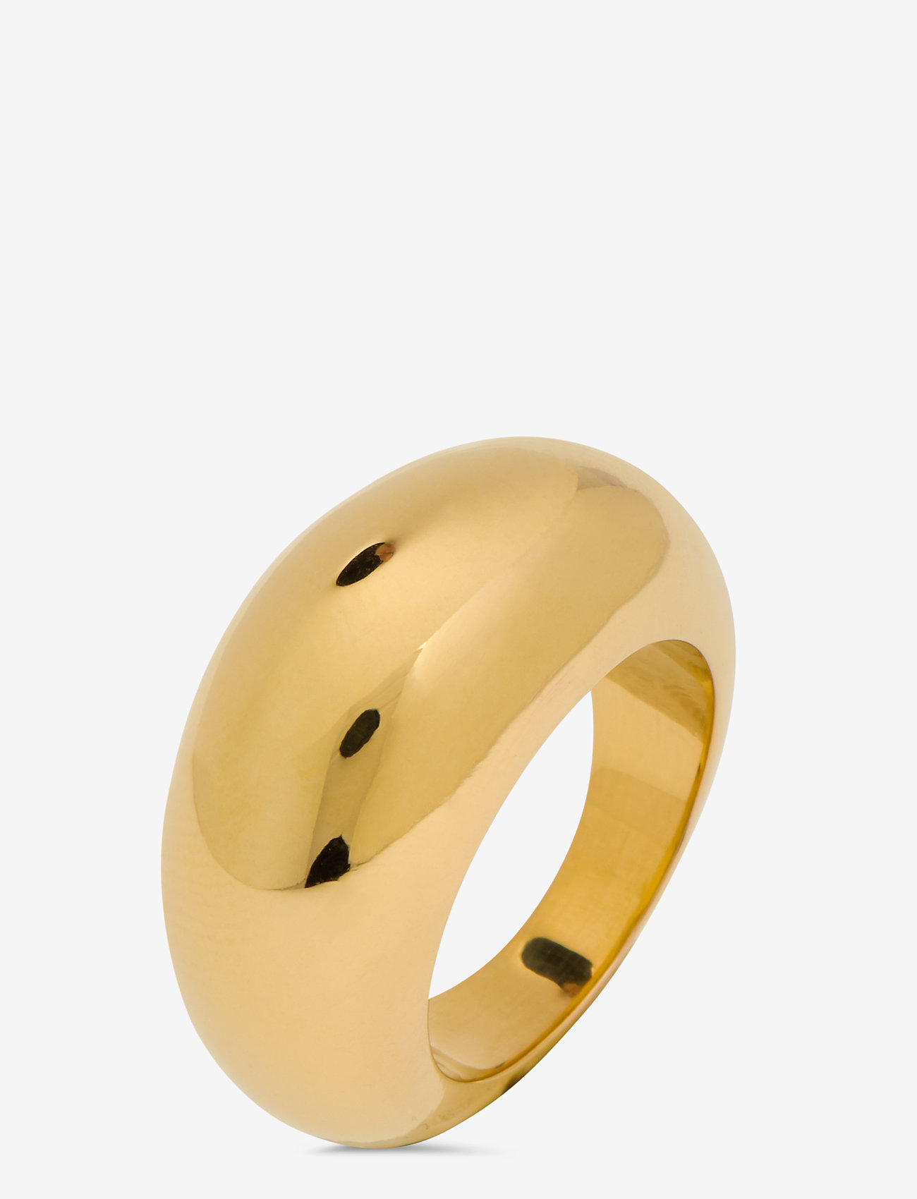 Syster P - Bolded Big Ring Gold - ringen - gold - 0
