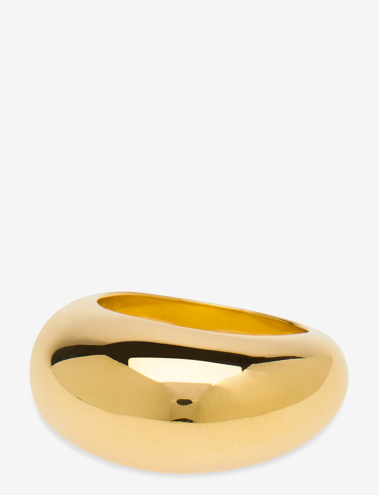 Syster P - Bolded Big Ring Gold - ringen - gold - 1