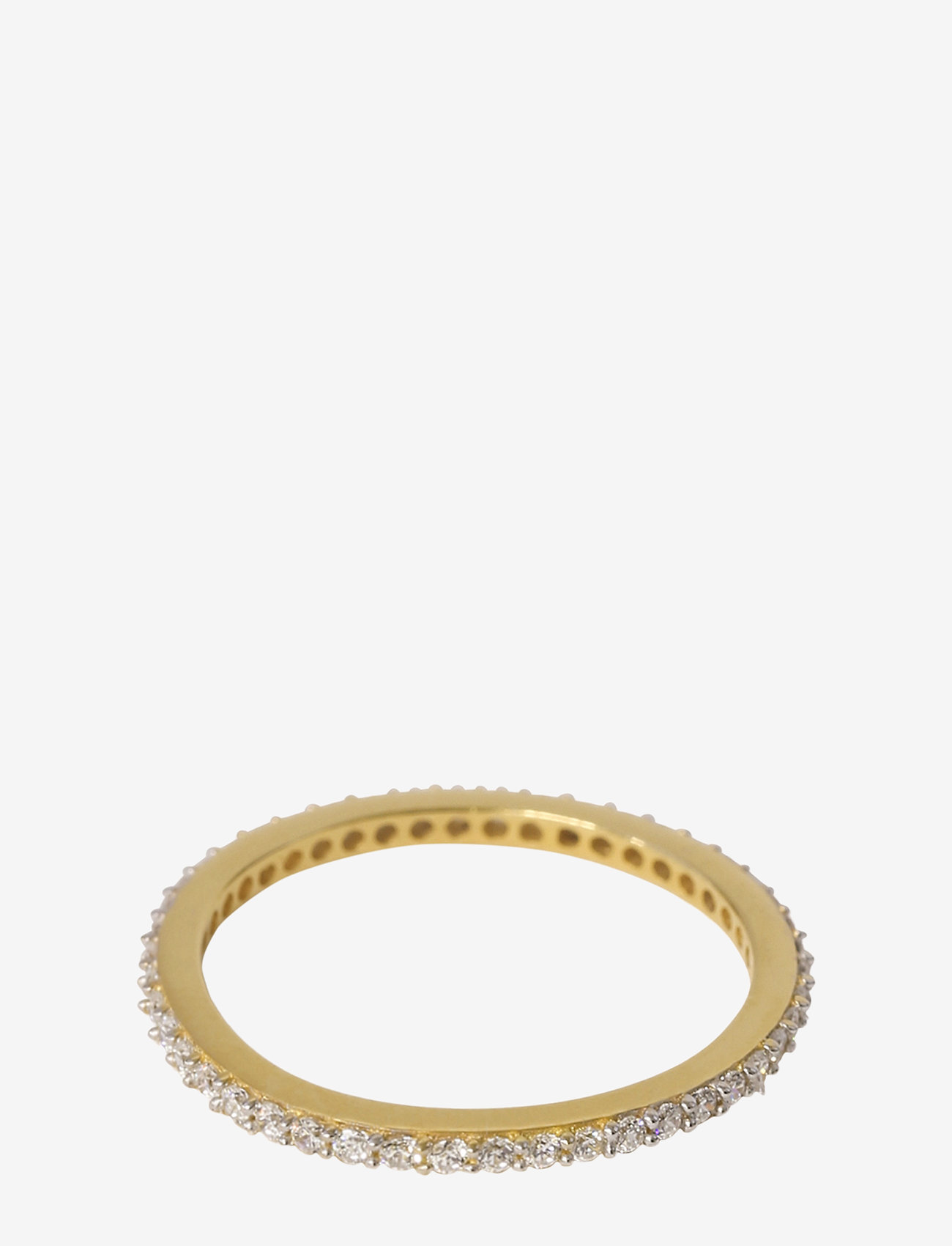 Syster P - Tiny Sparkle Ring Gold Crystal - ringen - crystal - 0