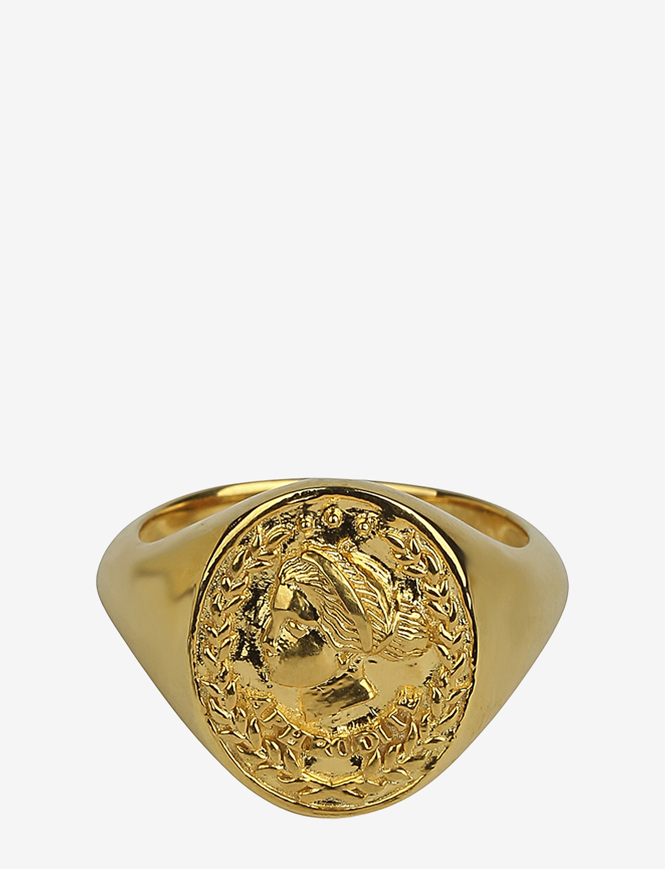 Syster P - Beaches Aphrodite Ring Gold - sormukset - gold
