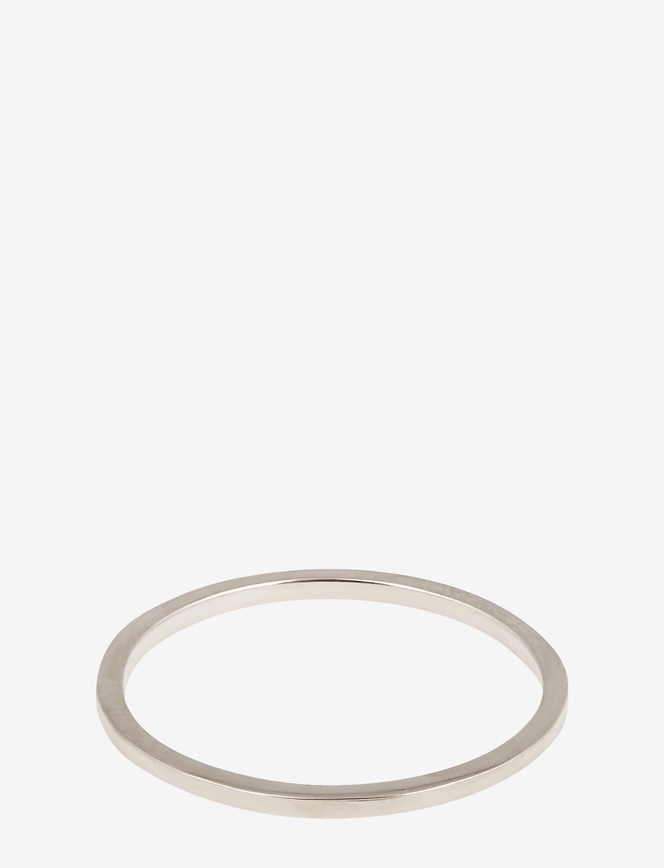 Syster P - Tiny Plain Ring Silver - ringen - silver - 0
