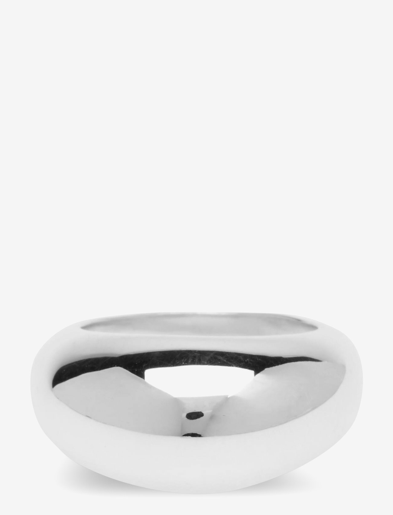 Syster P - Bolded Big Ring Silver - ringen - silver - 1