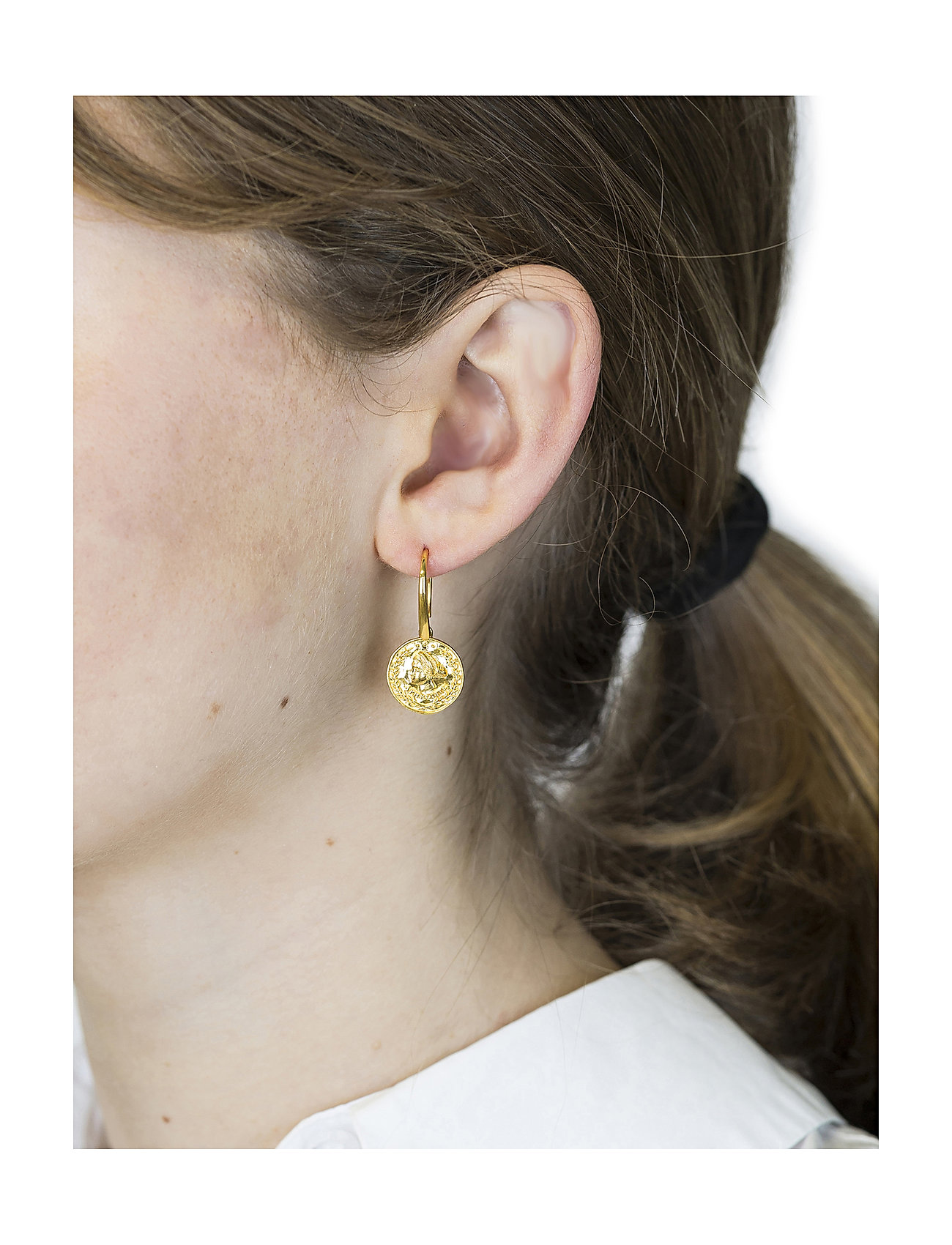 Syster P Beaches Aphrodite Earrings Gold - Smycken