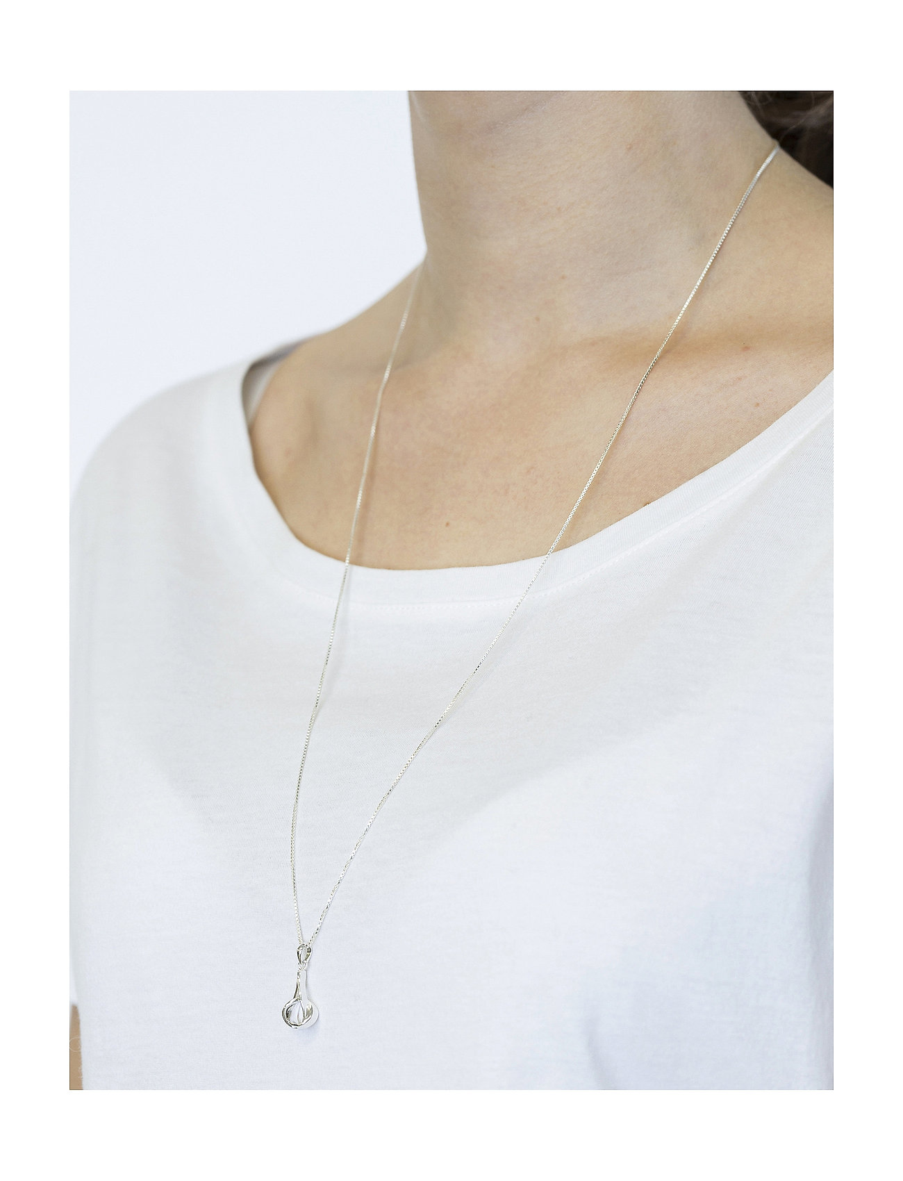 Syster P - Tied  Necklace Silver - sirot kaulakorut - silver