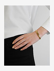 Syster P - Bolded Bangle Gold - bangles - gold - 1