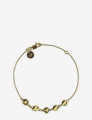 Syster P - Divine Disc Bracelet Gold - dainty - gold - 0