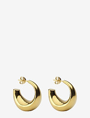 Syster P - Bolded Earring Gold - hopen - gold - 0