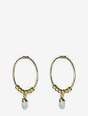 Syster P - Mini Teardrop Earrings Gold - hopen - gold - 0
