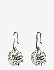 Syster P - Beaches Aphrodite Earrings Silver - pendant - silver - 0