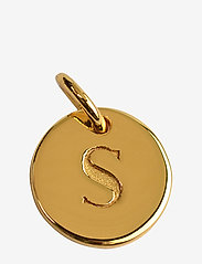 Syster P - Beloved Mini Letter Gold - hangers - gold - 0