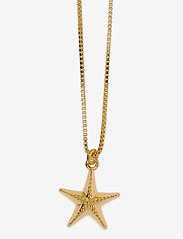 Syster P - Beaches Starfish Necklace Gold - kettingen met hanger - gold - 1